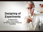 Designing of Experiments