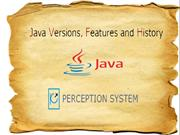 Java Version, Features and History