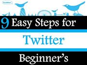 9 Easy Steps for Twitter Beginners