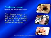 Hair and Beauty Salon in Chandigarh - Beauty Lounge Chd