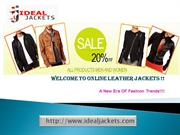 Mens Slim Fit Leather Jacket-idealjackets.com