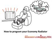 Economy Radiators - How to program and set your ER Radiator