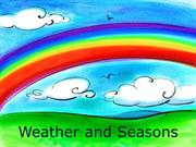 Weather and seasons grade 5