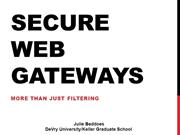 Web Based Security Tool - Week 4 - Beddoes