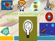 Great scientists of India