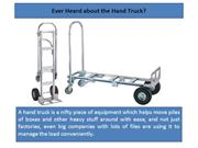 Ever Heard about the Hand Truck