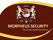 Morpheus Security Services | Security Services in Delhi