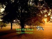 Take_the_time