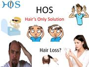 Hair Transplant in India- HOS(Hair's Only Solution)