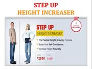 Step Up Height Increaser – Height Increasing Product Step Up Height