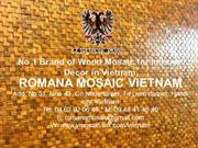 2013 - Romana Mosaic - Ancient Wood Mosaic - Product Catalogue (EN)