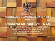 2013 - Romana Mosaic - Ancient Wood Mosaic - Product Catalogue (4)
