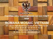 2013 - Romana Mosaic - Ancient Wood Mosaic - Product Catalogue (5)
