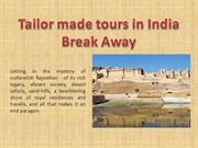 Tailor made tours in India