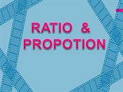 ratio and propotion