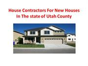 House Contractors For New Houses In The state