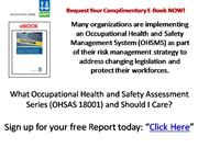 What OHSAS 18001 a Free Report