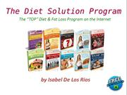 Free Download eBook Diet Solution Program PDF by Isabel De Los Rios