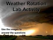 Weather Rotation Lab Activity