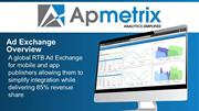 Apmetrix Ad Exchange Presentation