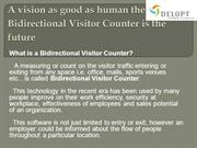 Bidirectional Visitor Counter