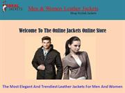 Stylish Leather Jackets For Men -Idealjackets