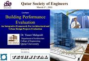 QSE - Building Performance Evaluation presentation