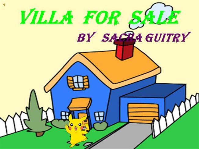 villa for sale by sacha guitry