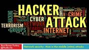 Network security- Man in the middle (MITM) attacks