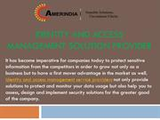 Identity and Access Management Solution Provider- Amerindia.net