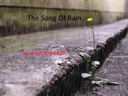 The SONG OF THE RAIN