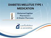 DIABETES MELLITUS TYPE I MEDICATION