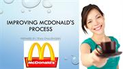 Improving McDonald's Process