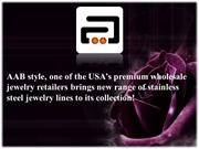USA's premium wholesale jewelry retailers brings new range jewelry