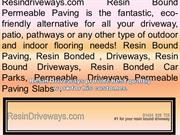 Resin Bonded Driveways