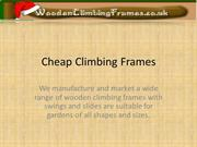 Cheap Climbing Frames