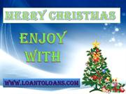 Get Christmas Loan To Celebrate Christmas
