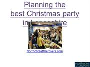 Planning the best Christmas party in Lancashire