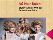 AG Hair Salon in Hollywood Florida