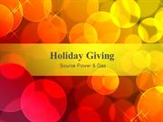 Source Power & Gas Holiday Giving