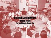 School Social Work powerpoint