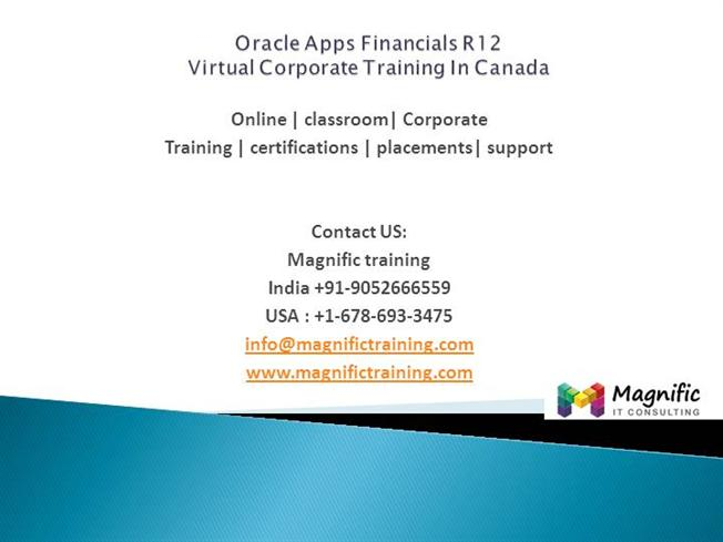 Oracle Apps Financials R12 Real Basic Concepts-Magnific