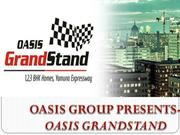 Oasis Grandstand Offering High Rise Apartments At Yamuna Expressway