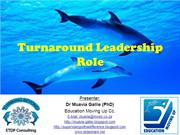 STAS - Turnaround leadership role