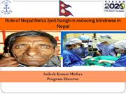 Eye care in Nepal