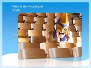 What is the meaning of SJSU