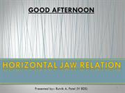 Horizontal Jaw Relation