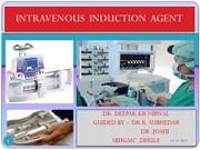 INTRAVENOUS INDUCTION AGENT