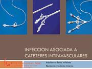 infeccion cateter intravasculares