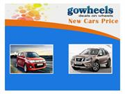 New car price in india, New car prices, New car prices 2014